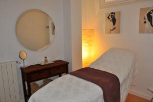 cabina masaje C&M Estética